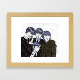 The Fabulous Four Framed Art Print