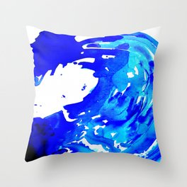 Save The Water Watercolour Throw Pillow