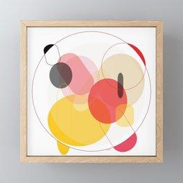 Color Geometry Framed Mini Art Print