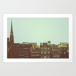 Princess Street Art Print