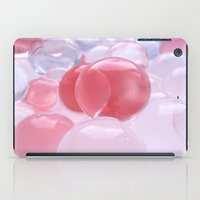 bubbles iPad Cases featuring Bubbles by Tanja Riedel