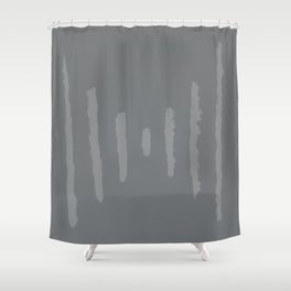A #11 - Minimalistic (muted) Shower Curtain