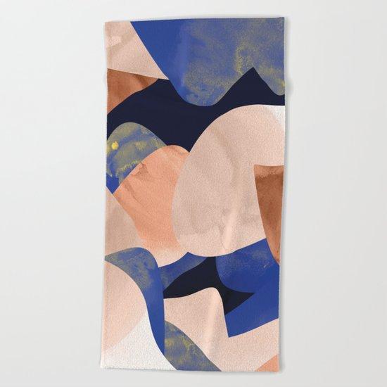 Grace Surface Print 018 Beach Towel