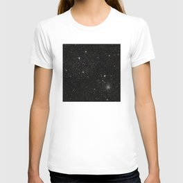 Space - Stars - Starry Night - Black - Universe - Deep Space T-shirt