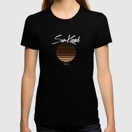Sun Kissed Black T-shirt