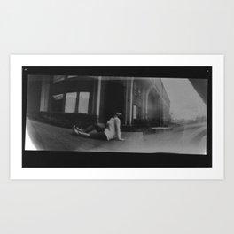 pinhole 1 Art Print