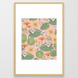 Vintage Royal Gardens #society6artprint #buyart Framed Art Print