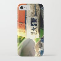 converse iPhone & iPod Cases featuring Converse by americansummers