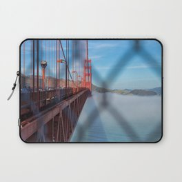 Golden Gate Behind The Fence II Laptop Sleeve