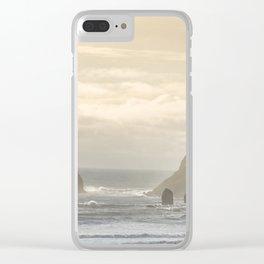 Reynisdrangar. Clear iPhone Case