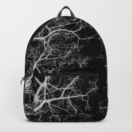 Black and white tree photography - Watercolor series #10 Backpack