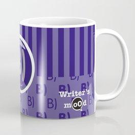 Indigo Writer's Mood Coffee Mug
