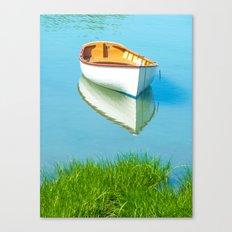 serene boat scene#3 Canvas Print