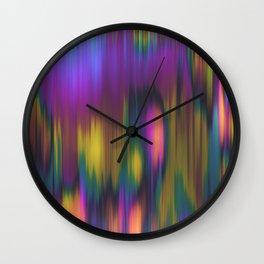 Yogi Plums & Orange Souls Wall Clock