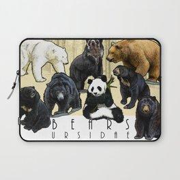 Bears of the World  - Ursidae Laptop Sleeve