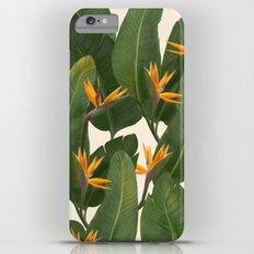 tropical floral iPhone 6 Plus Slim Case