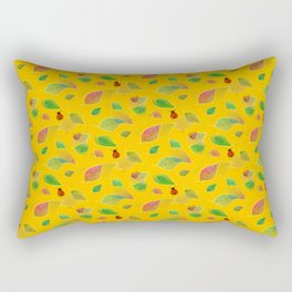 Autumn And Ladybugs - Nature Rectangular Pillow