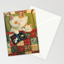The cozy moment Stationery Cards