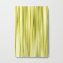 Strpes yellow Metal Print