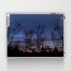 The line between night and day Laptop & iPad Skin