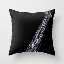 Dark Visitor Throw Pillow