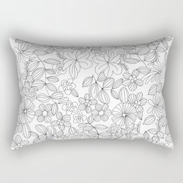 My Flower Design 12 Rectangular Pillow
