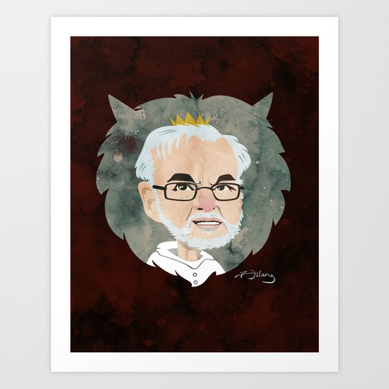 Maurice Sendak Tribute Art Print