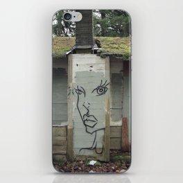 Wallface iPhone Skin