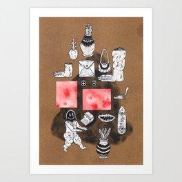 Imaginary Showcase Art Print