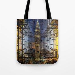 Rain in a City Tote Bag