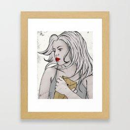 confidential Framed Art Print