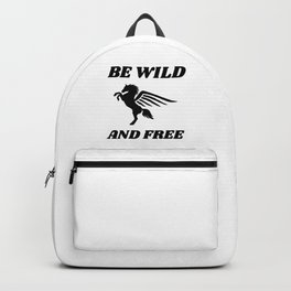 Free and Wild Pegasus Backpack