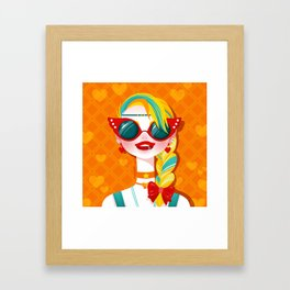Bitch Please: Sailor Venus Framed Art Print
