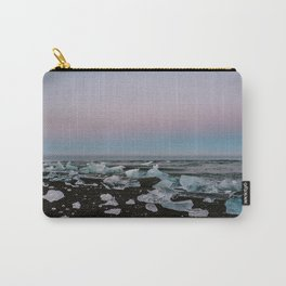 Iceland Diamond Beach in the Summer at Dusk Carry-All Pouch