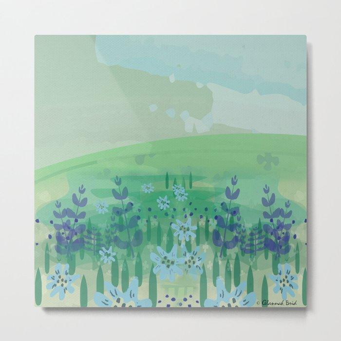 Wild Flowers. Metal Print