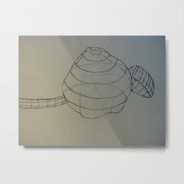 Squash and Ladle Metal Print