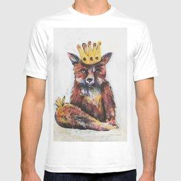 Fox King Crowned T-shirt