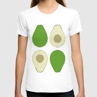 avocado T-shirts featuring Avocado by Silja Rouvinen