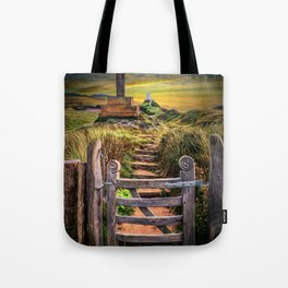 Gate to the Holy Island Tote Bag