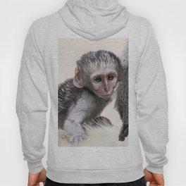 New born baby monkey Hoody
