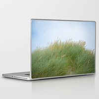 dune Laptop & iPad Skins featuring Dune Grass by A Wandering Soul