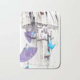 S++ why! now! paper! Squirrel Bath Mat