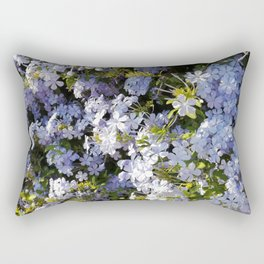 a violet flower in the heart of Athens Rectangular Pillow