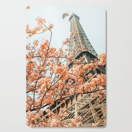 Paris in Spring #photography #paris #travel Cutting Board