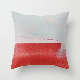 what remained Throw Pillow
