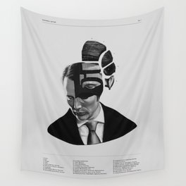 Hannibal Lecter Phrenology Wall Tapestry