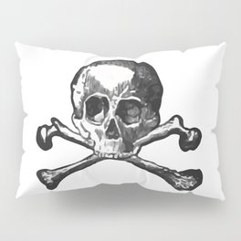 Skull and bones 2 Pillow Sham