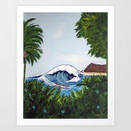 Big Swell Art Print