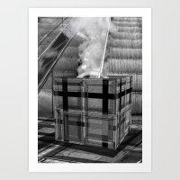 The Mysterious Box Art Print