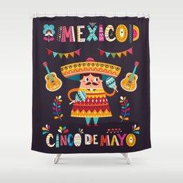 Cinco de Mayo – Mexico Shower Curtain